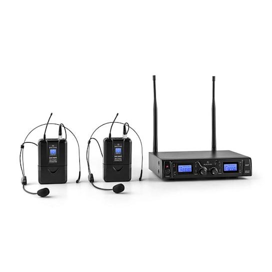 Duet Pro V2 2-Channel Wireless Microphone Set 50m Range