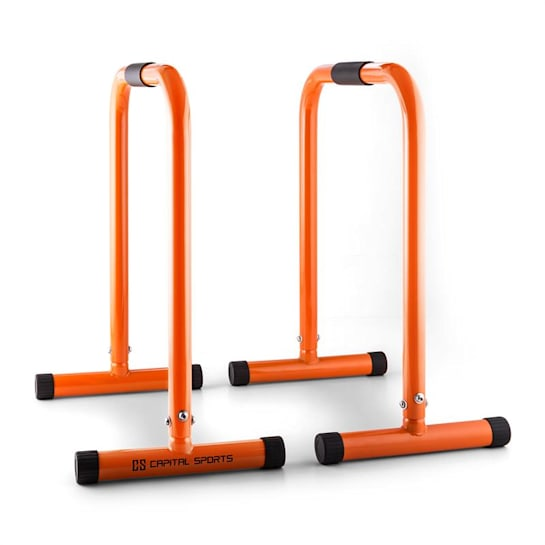 Alongs Parallettes Core-Trainer Fitness Equalizer Orange