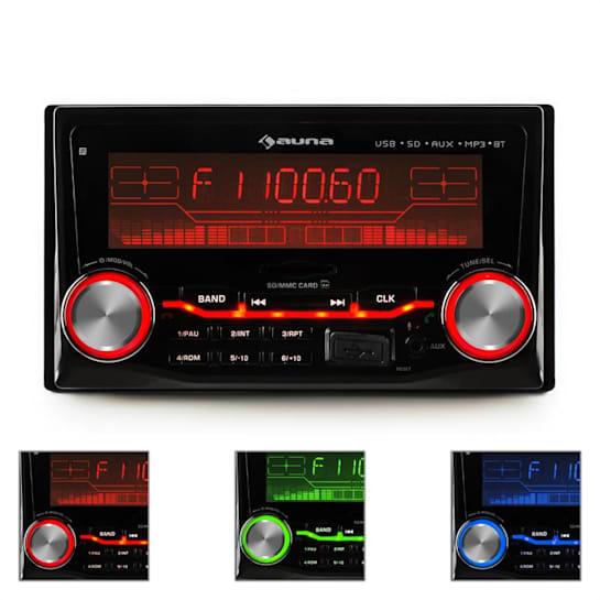 MD-200 2G BT AutoradioUSB SD MP3 Bluetooth 3 Colori