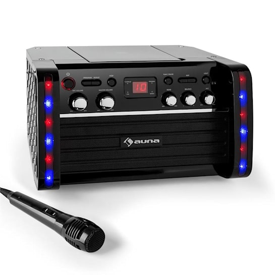DiscoFever Karaoke-Anlage CD-/CD+G-Player iPad-Halterung