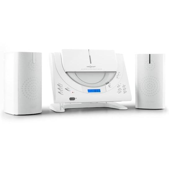 Vertical 80 Stereoanlage CD USB MP3 AUX weiß