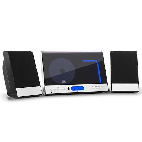 Vertical 90 Stereo System CD USB MP3 AUX Black