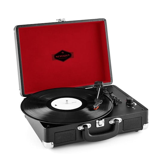 Peggy Sue retro-platenspeler LP USB zwart