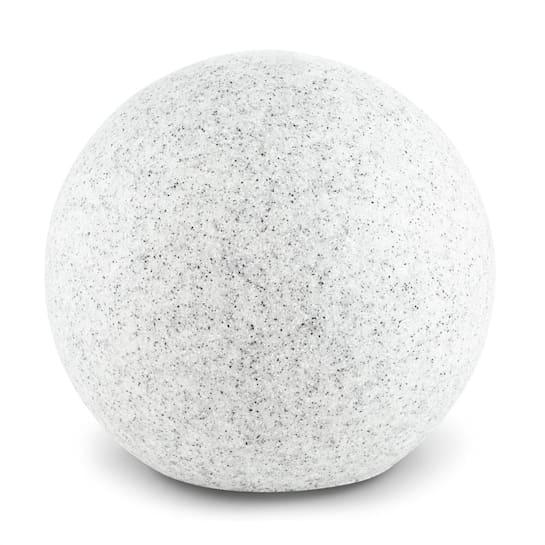 Shinestone S Globe Lamp Outdoor Garden Light 20cm Stone Look