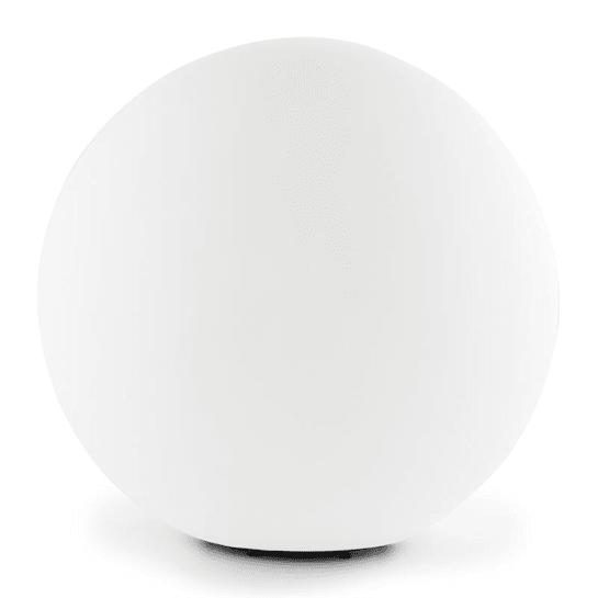 Shineball S, zahradní svítidlo, kulovité, 20 cm, bílé