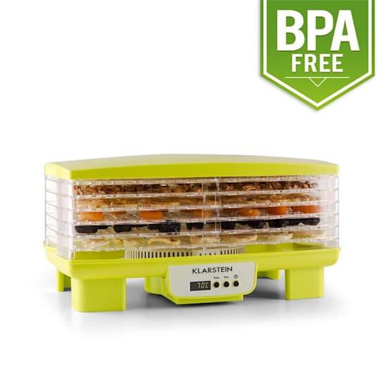 Bananarama Dörrautomat grün 550W Trockner Dehydrator 6 Etagen