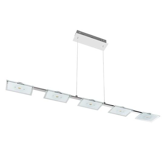 Vegard 5 Hängelampe LED 5x5W 400lm Chrom Glas