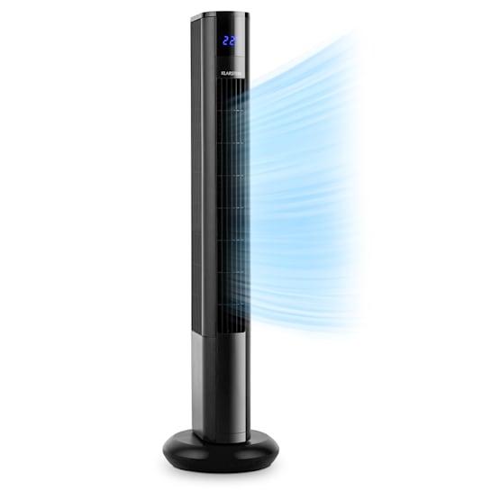 Klarstein Skyscraper 3G, 50 W, věžový ventilátor s dotykovým ovládáním, dálkový ovladač, černý