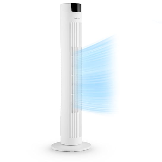Klarstein Skyscraper 2G Ventilatore A Colonna 40W Flusso 820 m³/h Touch bianco