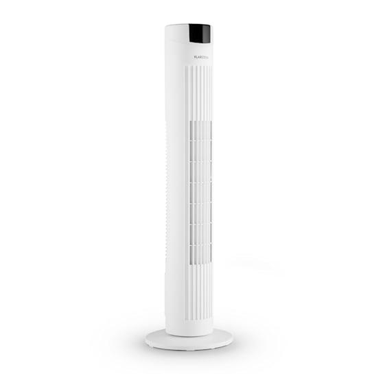 Klarstein Skyscraper 2G, Ventilator-toranj 40 W s upravljanjem na dodir, aromatično ulje, daljinski upravljač, bijeli