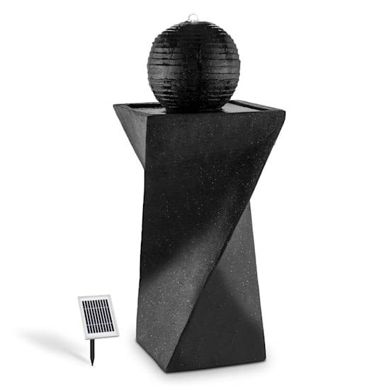 Fontana a sfera solare 200 l / ora LED basalto