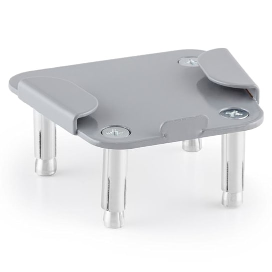 Ground Adapter Plate for Bari Side Awning Steel Powder Coated
