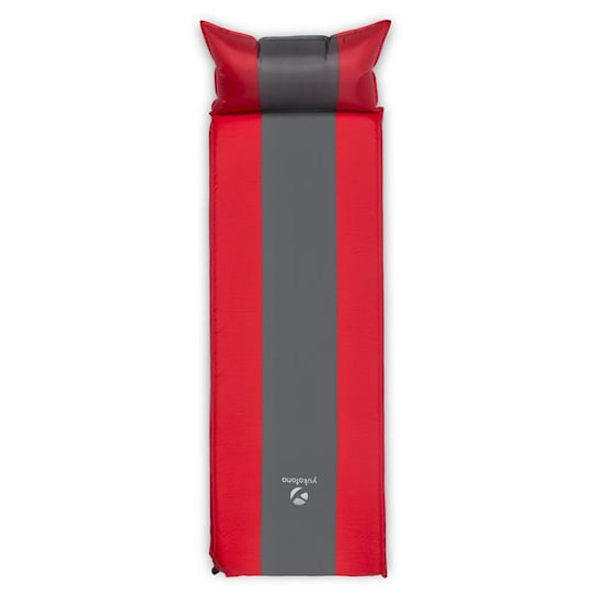 Goodsleep 5 Sleeping Mat Air Mattress 5cm Thick Self-Inflating Red-Grey
