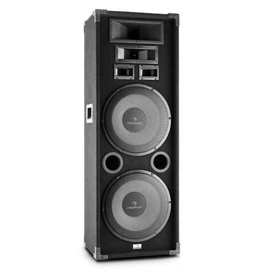 """PA-2200 Full Range PA Speaker 2x12"""" Subwoofer 1000W"""