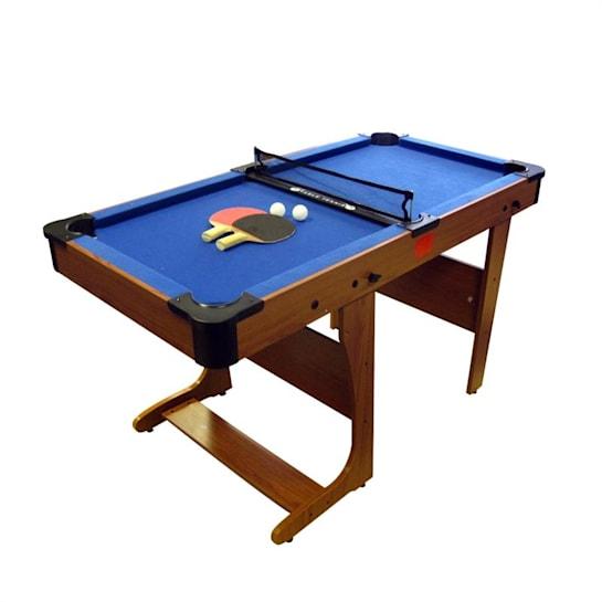 PT20-6D BCE Clifton, 6´ sklopiteľný biliardový stôl s doskou pre stolný tenis
