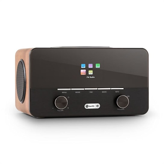 Connect 150 2.1 Internet Radio Alarm Clock Media Player Wifi USB Spotify