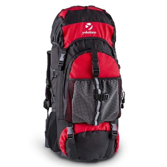 Thurwieser RD Plecak trekkingowy 55 litrów nylon wodoodporny czerwony