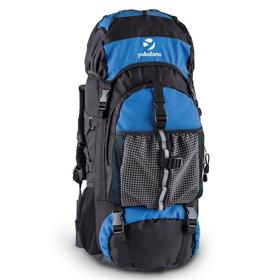 Thurwieser BU Trekking Backpack 55L Waterproof Nylon Blue