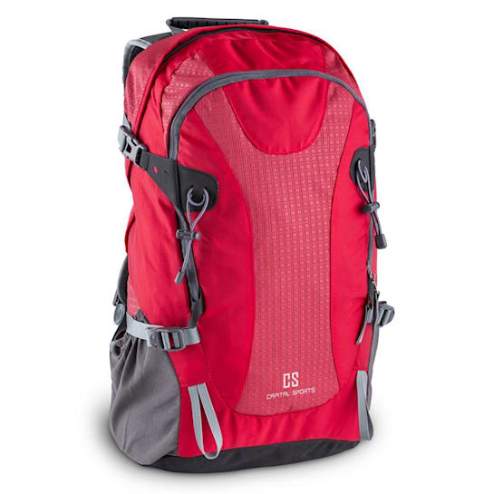 Ridig Mochila de escalada 38l impermeable nailon rojo
