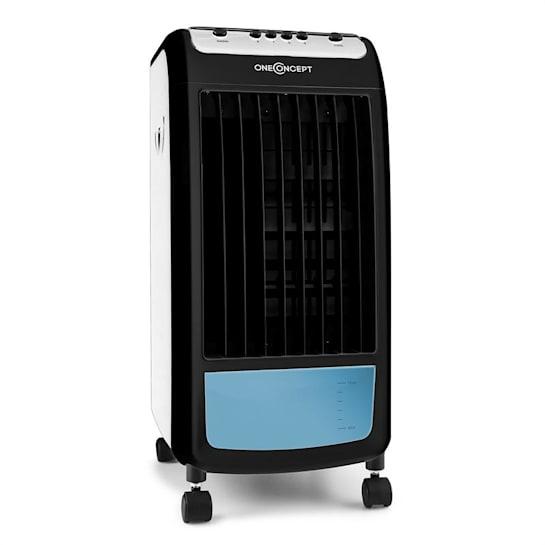Caribbean Blue Air Cooler Humidifier Fan 400m³ / h White