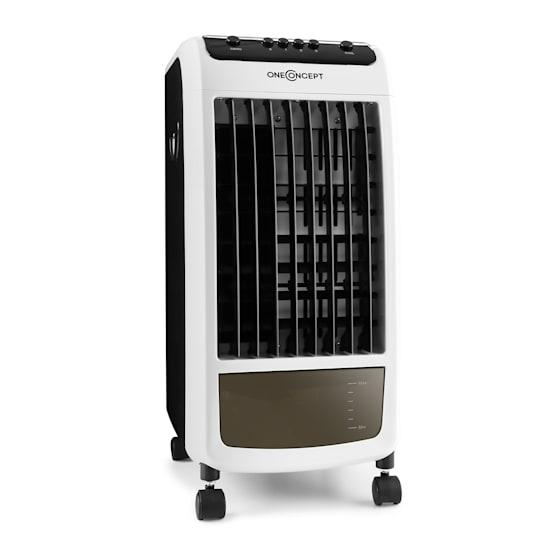 Carribean Blue 3-in-1 Luftkühler Ventilator Luftbefeuchter 402 m3/h | 70 Watt | 4 Liter | 3 Geschwindigkeiten | Oszillation | mobil