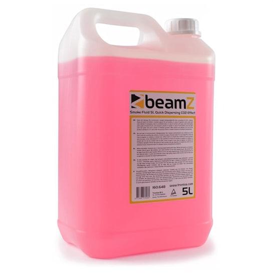 mlžná tekutina, 5l, CO2 efekt, rychlá disperze, růžová barva