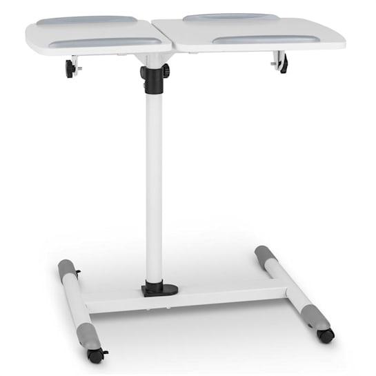 TS-5 projektoripöytä 2 pintaa max. 10 kg korkeussäädettävä kallistettava