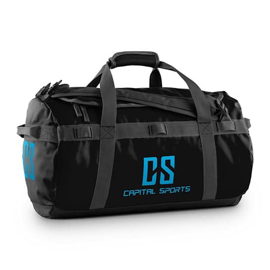 Travel S Sport Bag 45L Duffle Backpack Waterproof Black