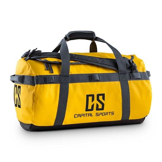 Travel S Sport Bag 45L Duffle Backpack Waterproof Yellow
