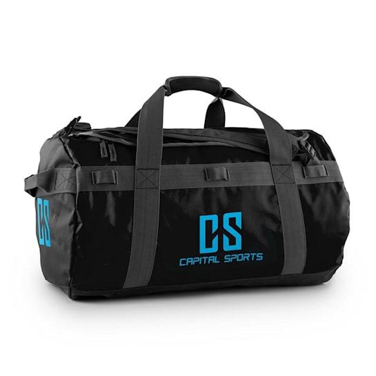 Travel M Sport Bag 60L Duffle Backpack Waterproof Black