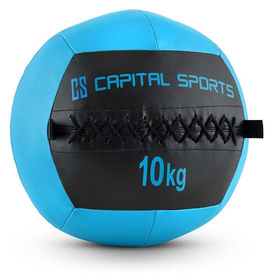 Epitomer Wall Ball 10kg Kunstleder dunkelblau
