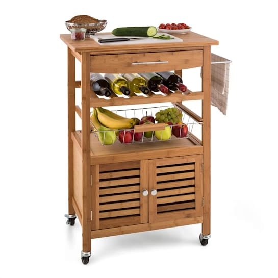 Louisiana Kitchen Trolley