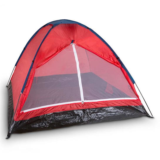 Cenote 3 Camping Tent Dome Tent 3 Persons Polyester Orange
