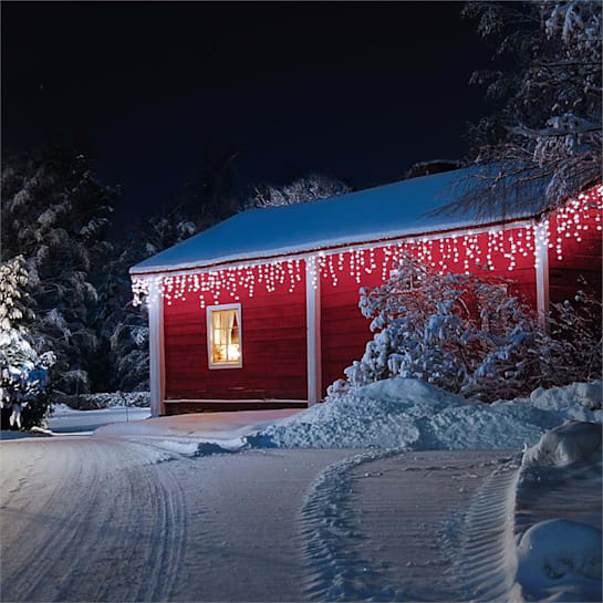 Dreamhouse Snow Lichterkette 24m 480 LED kaltweiß Snow Motion