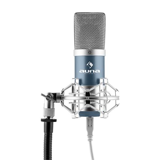 MIC-900BL USB кондензаторен микрофон син кардиоиден студио