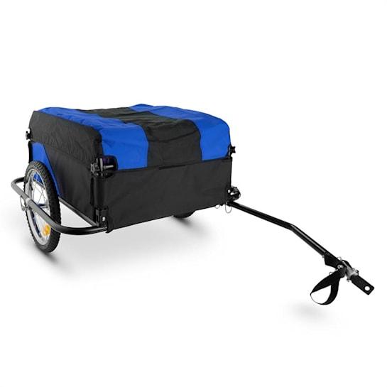 Mountee Bicycle Trailer Carrier 130l 60kg Steel Tube Blue-Black