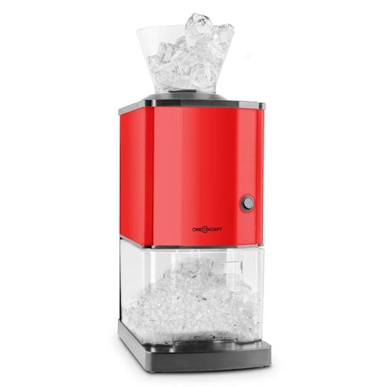 Icebreaker Ice Crusher 15kg/h 3,5 Liter Eisbehälter Edelstahl rot