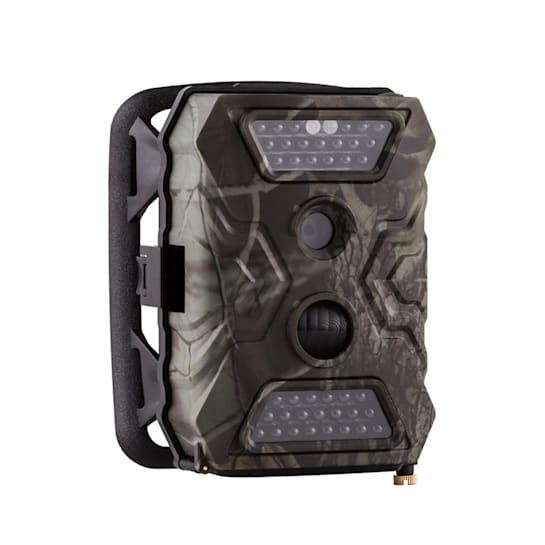 GRIZZLY Mini Wild Camera 40 Black LEDs 12 MP Full HD USB SD Pacco Batte