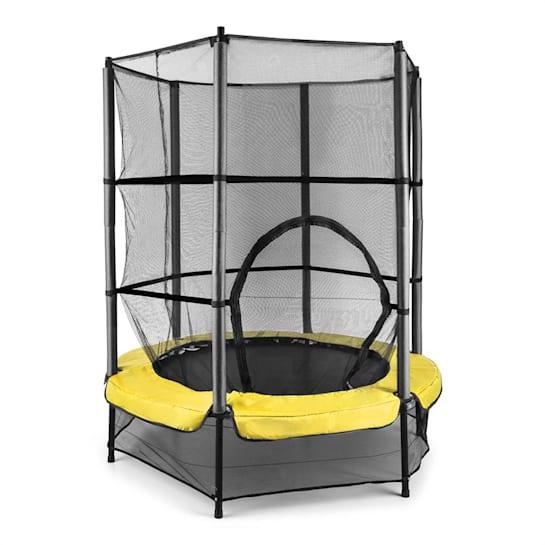 Rocketkid 3 140 cm Trampoline Safety Net Bungee Suspension Yellow