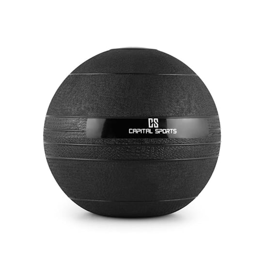 Groundcracker Pelota de peso Color negro Goma 4 kg