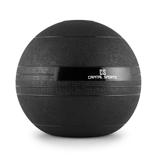 Groundcracker, čierny, 18 kg, slamball, guma