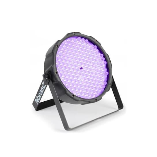 FlatPAR, 186 x 10mm, PAR reflektor, UV LED, DMX