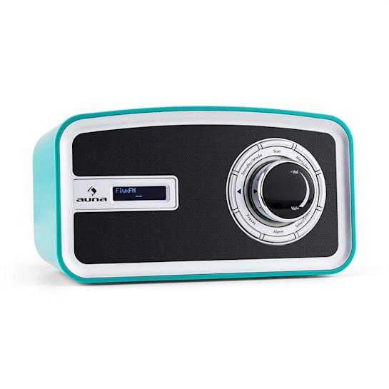 Sheffield Retro Mobile Digital Radio DAB+ VHF Turquoise