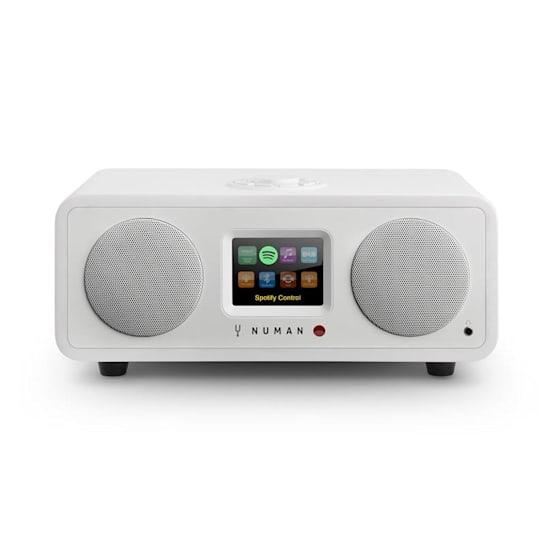 One – 2.1 Design WebRadio 20W Bluetooth Spotify Connect DAB+ Bianco