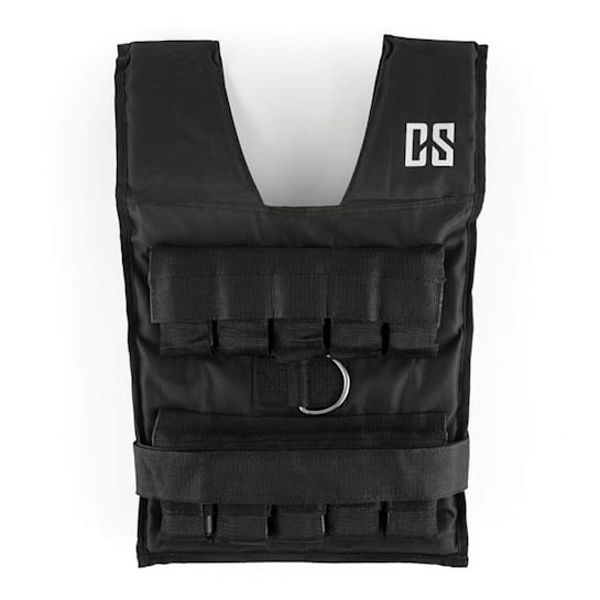 Monstervest Gilet con Pesi in metallo da 20 kg Nero