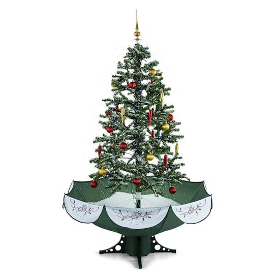 Everwhite, 180 cm, zelená, vánoční stromeček se simulací sněžení, LED, hudba