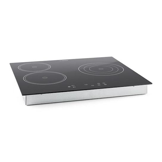 Virtuosa Ceramic Glass Hob Built-in Oven Cooker 5300W 59x52cm