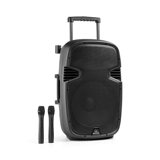Bushfunk 45 Altoparlante PA Attivo 900W Bluetooth Batteria USB SD MP3 VHF