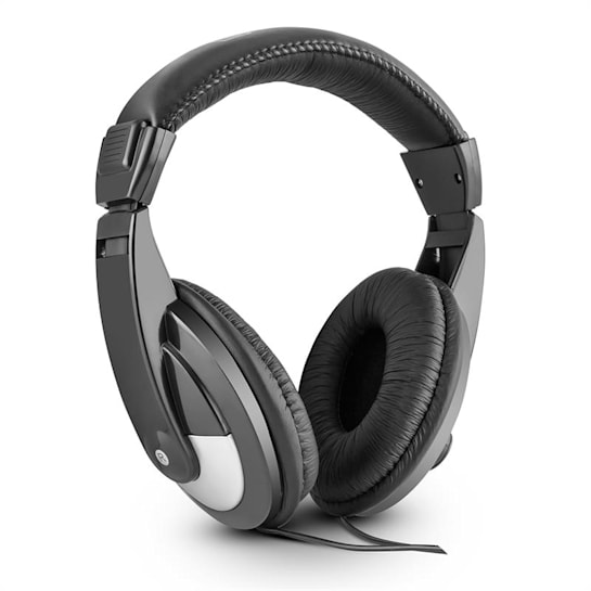 ST 120, 105dB, černá DJ sluchátka, umělá kůže, 2m kabel, adaptér