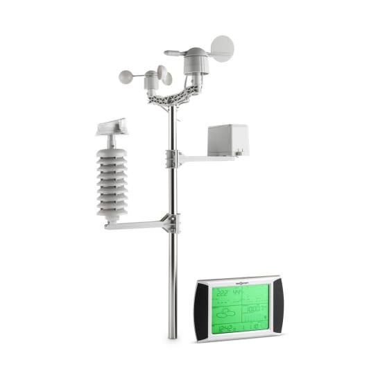Beaufort Stazione Meteo Radio 100m Schermo LCD Touch Solar